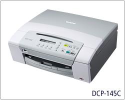 brother dcp 145c 3 in 1 colour inkjet multifunction printer. Black Bedroom Furniture Sets. Home Design Ideas