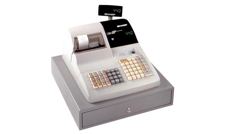 sharp er 440 sharp er a440 cash register sharp electronic rh sharpsa co za A440 Band A440 Band
