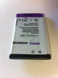 Siemens Cell Phone Battery