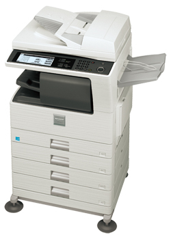 Sharp mx-m453u manuals.