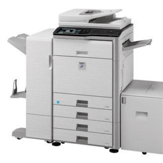 Sharp mx-m453u digital copier printer 45cpm network optional.
