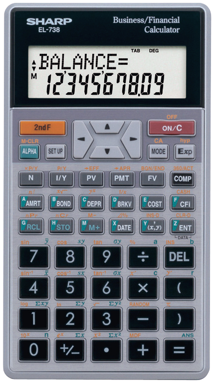 Sharp Financial Calculators