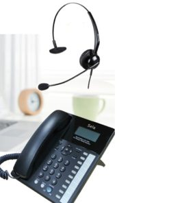 Kingtel kt 9600 speaker phone headset combo