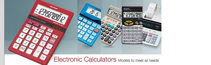 sharp-electronic-calculators